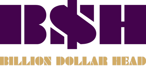 Billion Dollar Head logo